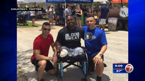 FL Police Major Who Lost Legs Inspires Fellow Officers