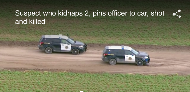 NM Deputy Seriously Injured, Suspect Killed in Kidnapping Incident