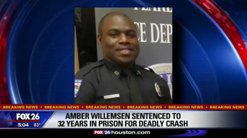 Woman Gets 32 Years for Drunken-Driving Crash That Killed TX Officer