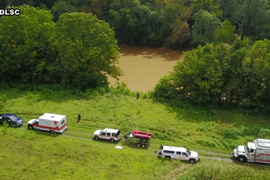 VA Rescue Crew Uses Drones to Help Rescue Man Trapped by Tree