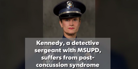 MI Police Officer Recovering From Brain Injury