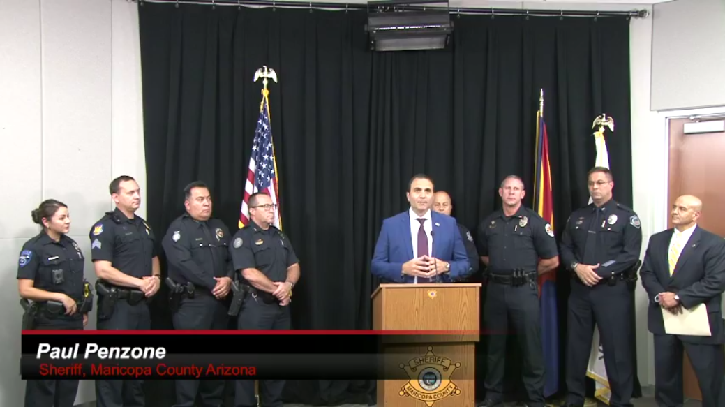 AZ Agencies Arrest Felons on the Run Through Operation Purge