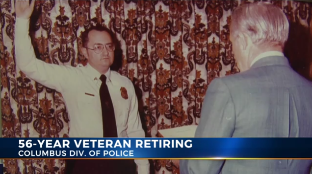 Longest-Serving Columbus, OH Police Officer Retires