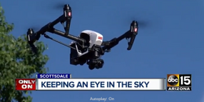 AZ Police Department Uses Drone to Find 3 Missing Children