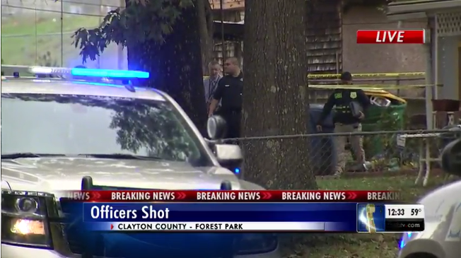 2 Georgia Officers Shot; 1 in Critical Condition