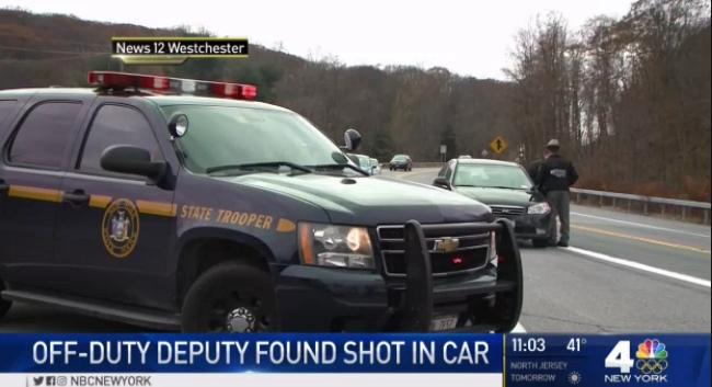 NY Deputy Found Shot Dead in Wrecked Car