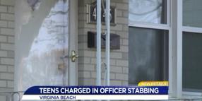 VA Officer Stabbed at Domestic