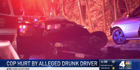 NY Officer Struck by Alleged Drunk Driver, Seriously Injured