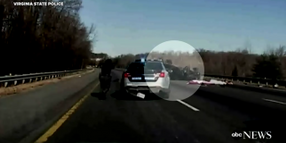 Murder Suspect's SUV Flips While Running from Virginia Officers