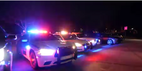 Orlando Officers Use Vehicle Lights to Boost Morale of Hospitalized Children