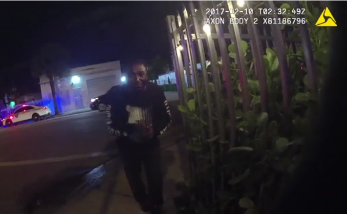 Miami Officer Verbally Abused by Comedian During Arrest