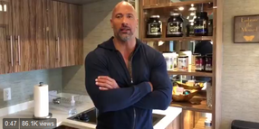 'The Rock' Sends Words of Encouragement to CO Deputy Wounded in Shooting