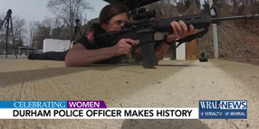 NC Officer Becomes Department's First Female Sharpshooter