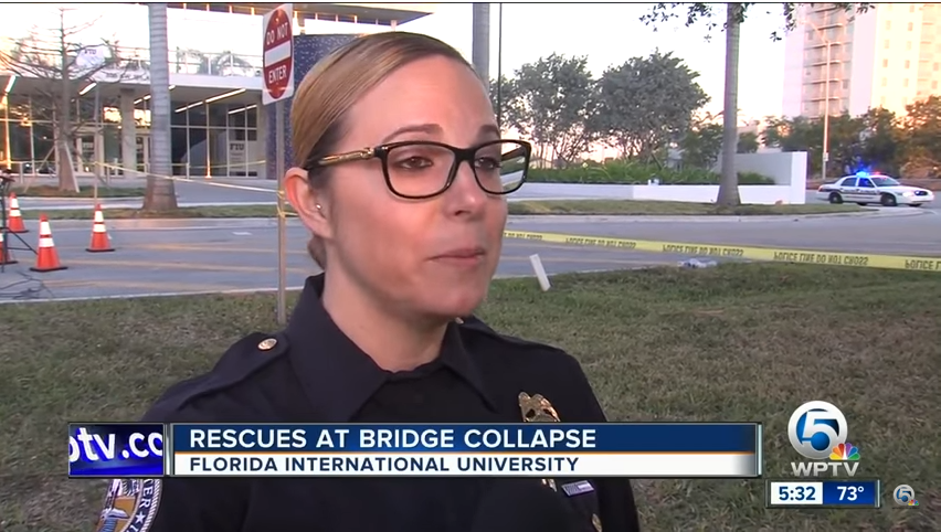 Off-Duty Florida Officer Helped Rescue Bridge Collapse Casualties