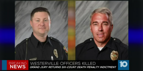 Cop Killer Suspect Facing Death Penalty in 2 Ohio Officers' Deaths
