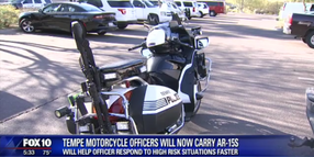 Arizona Department Equips 8 Motorcycles With AR-15s