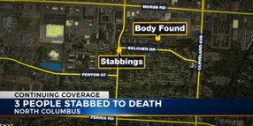 3 Killed, 1 Critically Injured in Ohio Stabbing; Suspect Fatally Shot
