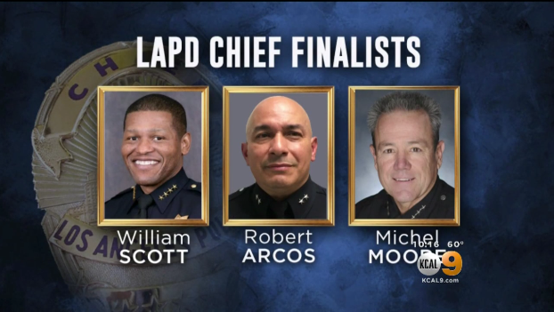 3 Candidates Vying for LAPD Chief Job, Newspaper Reports