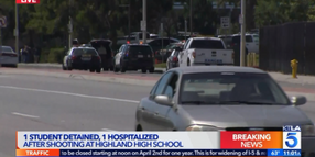 Off-Duty Officer Apprehends Teen CA School Shooter Suspect