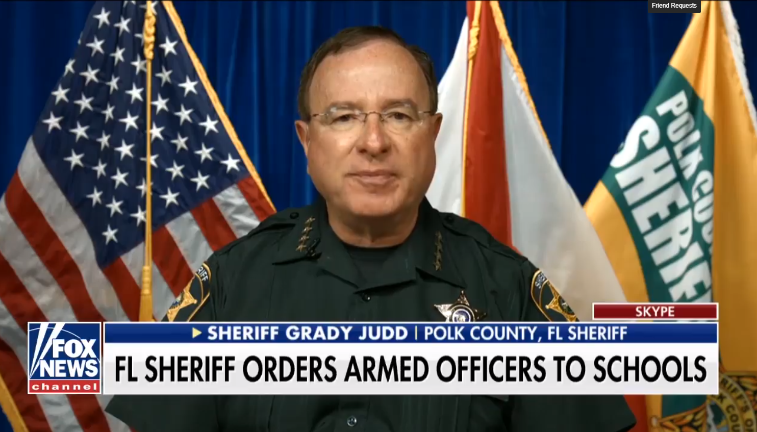 FL Sheriff Orders Armed Officers to Schools After TX Shooting