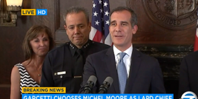 New LAPD Chief is 36-Year Veteran Michel Moore