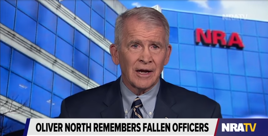 Oliver North on the NRA's Support of Law Enforcement