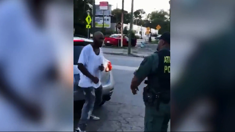 """Screen grab of a """"viral video"""" that has prompted Atlanta police to open an investigation. Image..."""