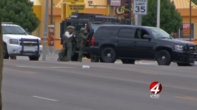 After 8-Hour Standoff Albuquerque SWAT Captures Carjacking Suspects