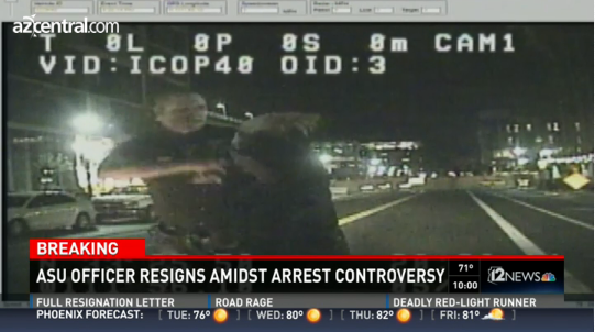 Arizona State University Officer Facing Termination for Force Incident Resigns