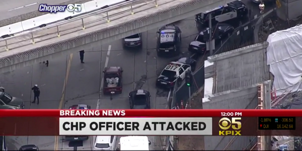 Homeless Suspect Slashes Throat of CHP Officer in San Francisco