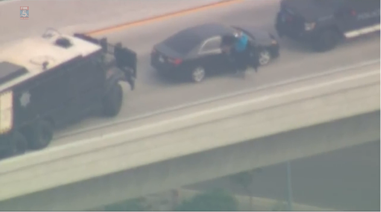California Amber Alert Ends With Freeway Standoff