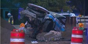 2 Chicago Officers Injured in Construction Site Crash