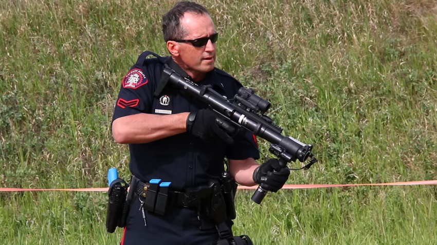 Canadian Agency Arms Patrol Officers with 37mm Launchers for Less-Lethal Response