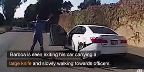 California Police Release Footage Leading up to Fatal OIS
