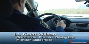 Michigan Police Commander Drives 2011 Chevy Tahoe