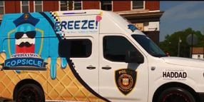 "Massachusetts Department Gets Ice Cream Truck to Deliver ""Copsicles"""