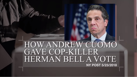 The widow of a New York City police officer killed after being ambushed by a convicted gang...
