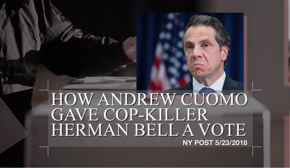 Widow of Slain Officer Criticizes New York Governor for Allowing Cop-Killer to Vote