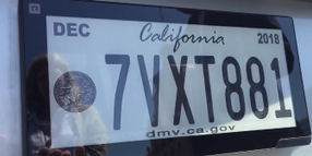 California Testing Digital License Plates