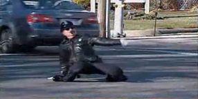 Rhode Island's Dancing Traffic Cop
