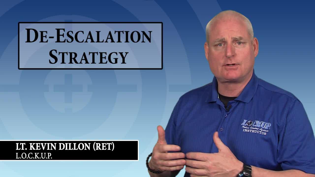 Using the  L.O.C.K.U.P. Method for De-Escalation