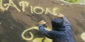 How to Decipher Gang Graffiti Codes