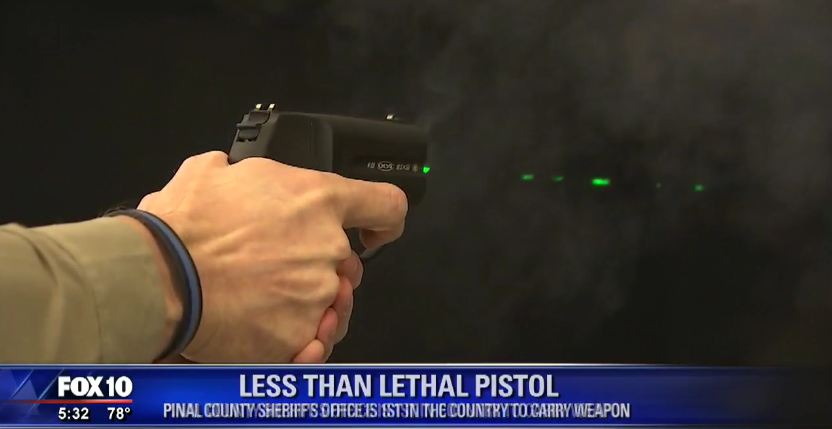 Arizona Sheriff's Agency to Test Less-Lethal Pistol