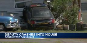 Ohio Deputy Crashes Vehicle into House while Running Code 3