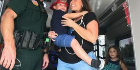 Family Visits Florida Deputy Who Helped Save Their Baby's Life