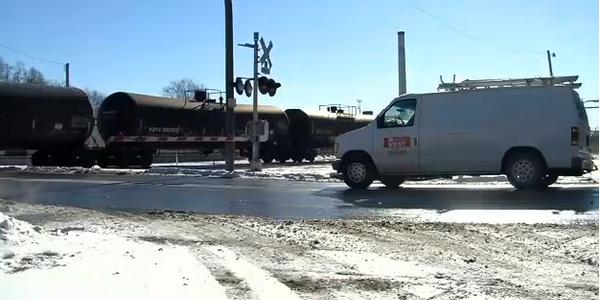 Iowa Home Invasion Suspect Cut in Half by Train