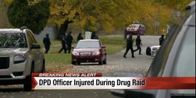 Detroit Officer Wounded During Drug Raid