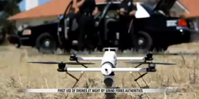 Aerial Drone Used to Collar DWI Suspects in North Dakota
