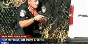 Calif. Officer Pulls Wounded Partner to Safety