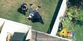 California Officer Kicks Gang Member During Arrest